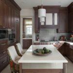 кухня венге в своём доме
