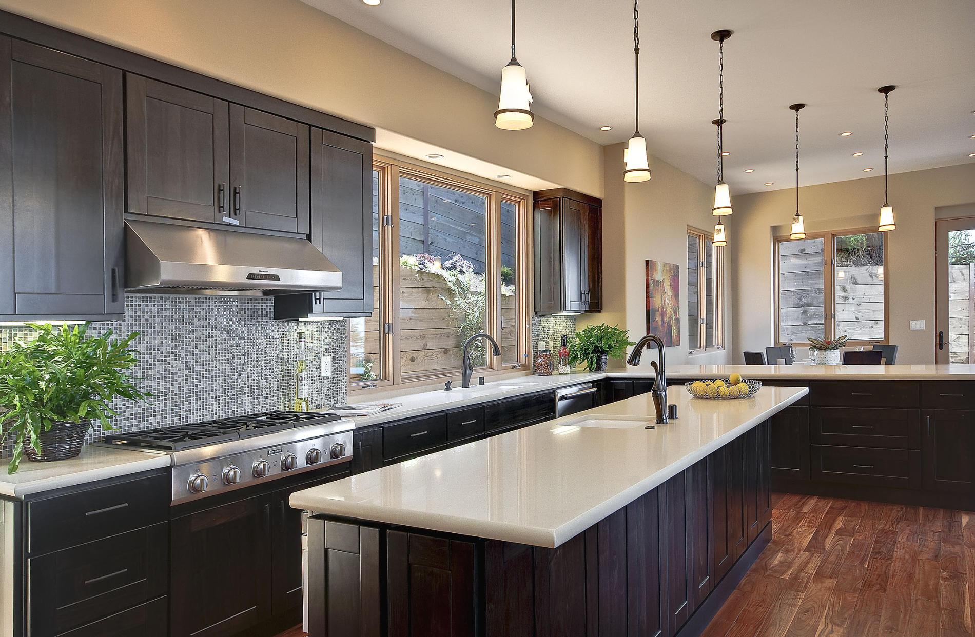 кухня венге фото интерьер