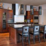 кухня венге планировка