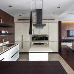 кухня венге практичный дизайн