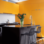 кухня венге современный интерьер