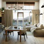 кухня совмещенная с балконом фото декор