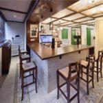 кухня совмещенная с балконом фото оформление