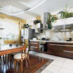 кухня совмещенная с балконом идеи видов