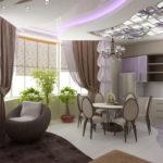 кухня совмещенная с балконом виды идеи