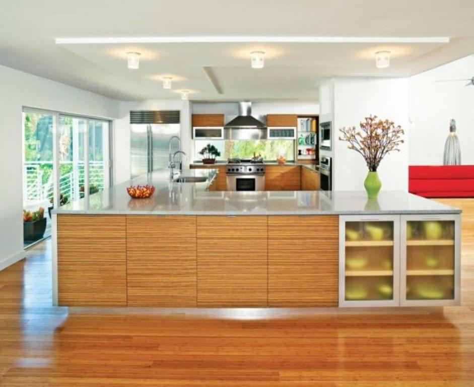 ламинат на кухне влагостойкий