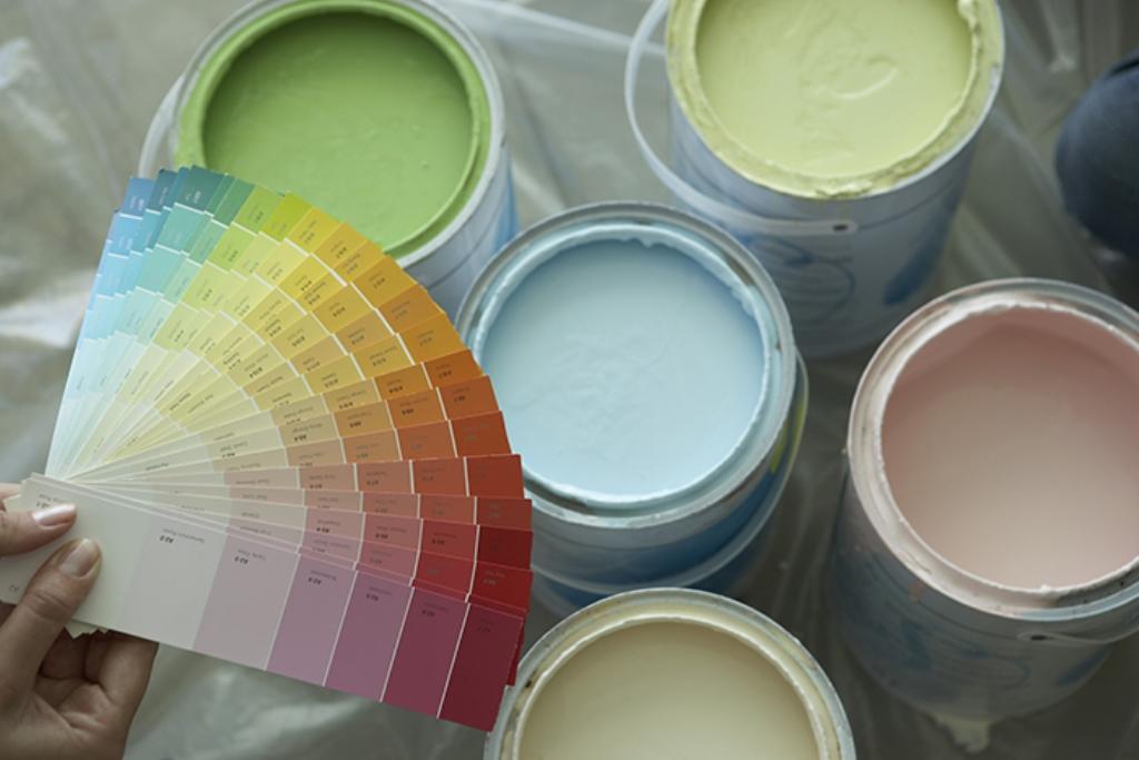 цветная латексная краска