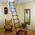 лестница на чердак декор