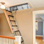 лестница на чердак декор фото