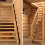 лестница на чердак фото интерьер