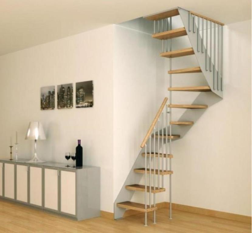 лестница на чердак дизайн фото