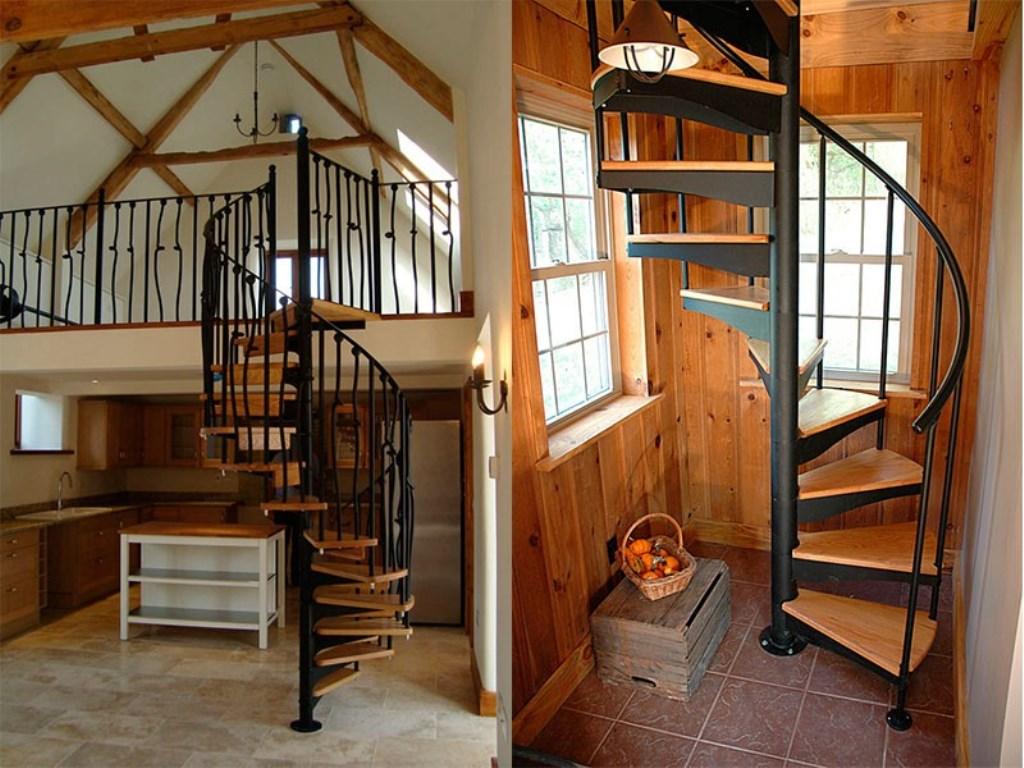 лестница на чердак дизайн