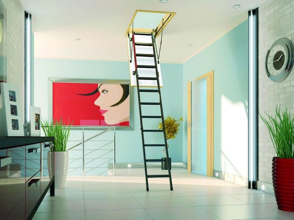 лестница на чердак складная
