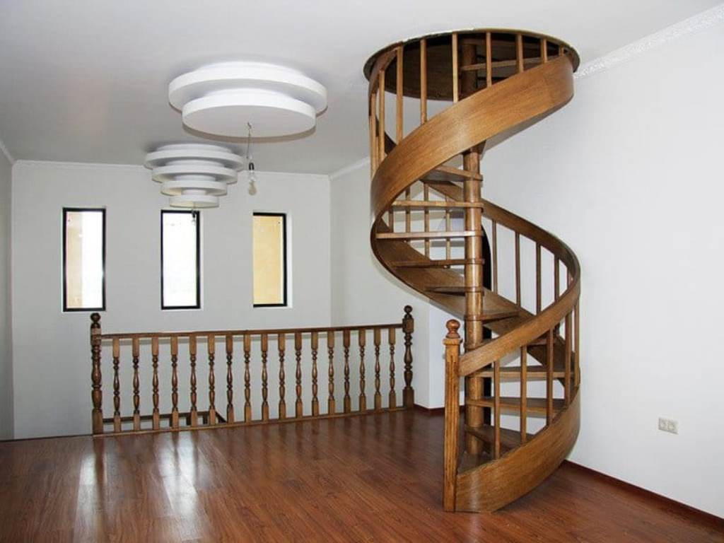 лестница на чердак витая
