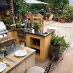 летняя кухня на даче виды
