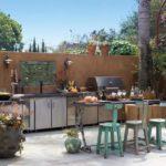 летняя кухня на даче фото видов