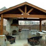 летняя кухня на даче обзор