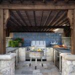 летняя кухня на даче виды дизайна