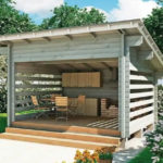 летняя кухня на даче дизайн