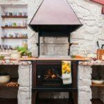 летняя кухня на даче фото дизайна