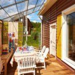 летняя кухня на даче фото декора