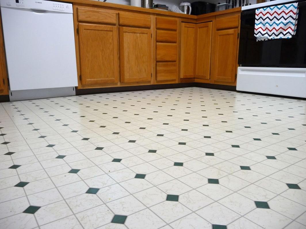 линолеум для кухни фото интерьера