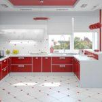 линолеум для кухни виды дизайна
