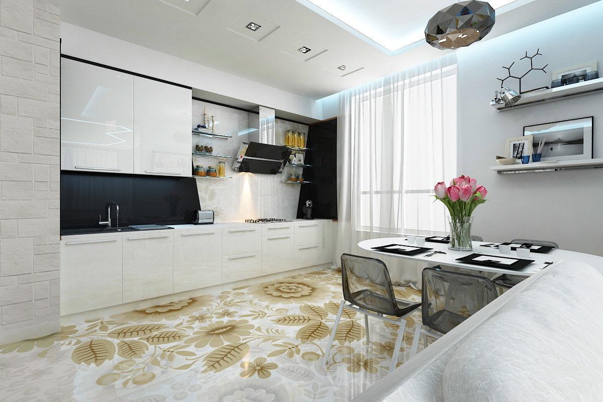 линолеум на кухню