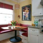 мягкий уголок для кухни фото оформление