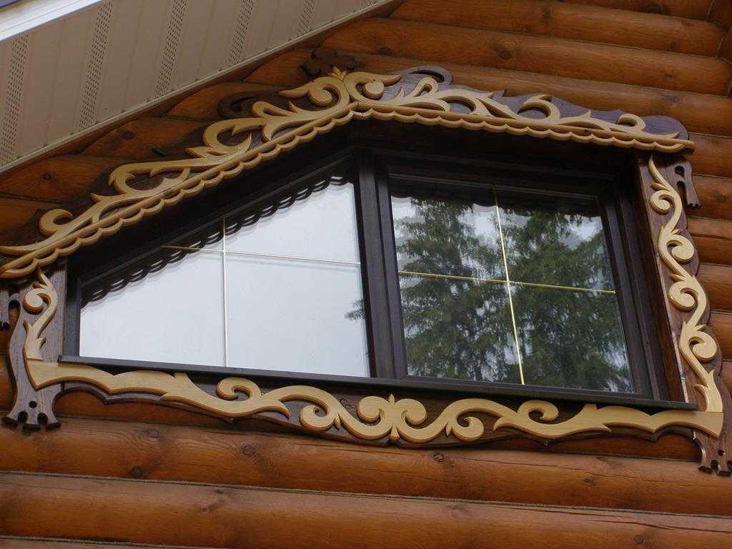 наличники на окна из дерева