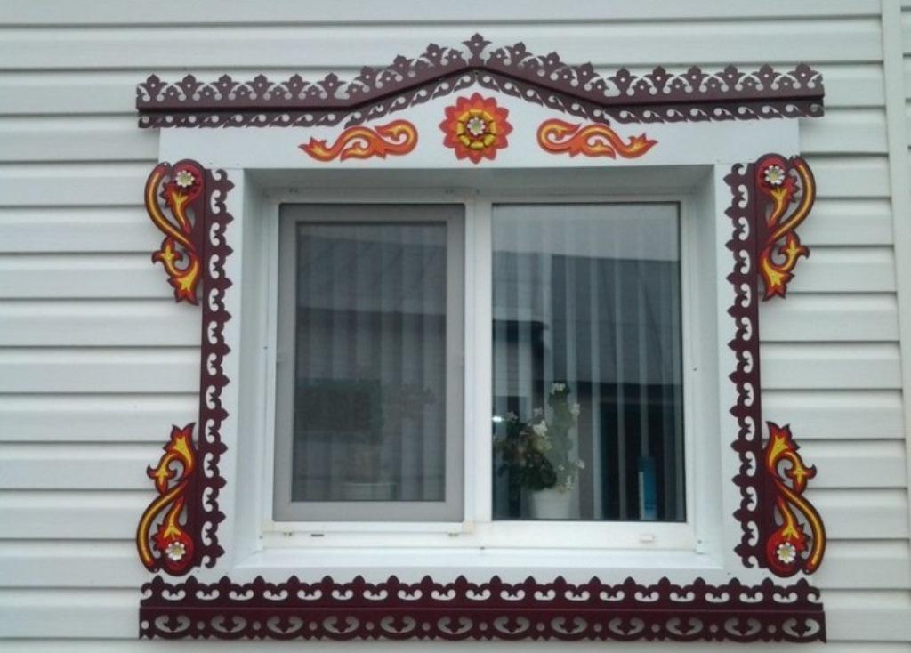 наличники на окна металлические