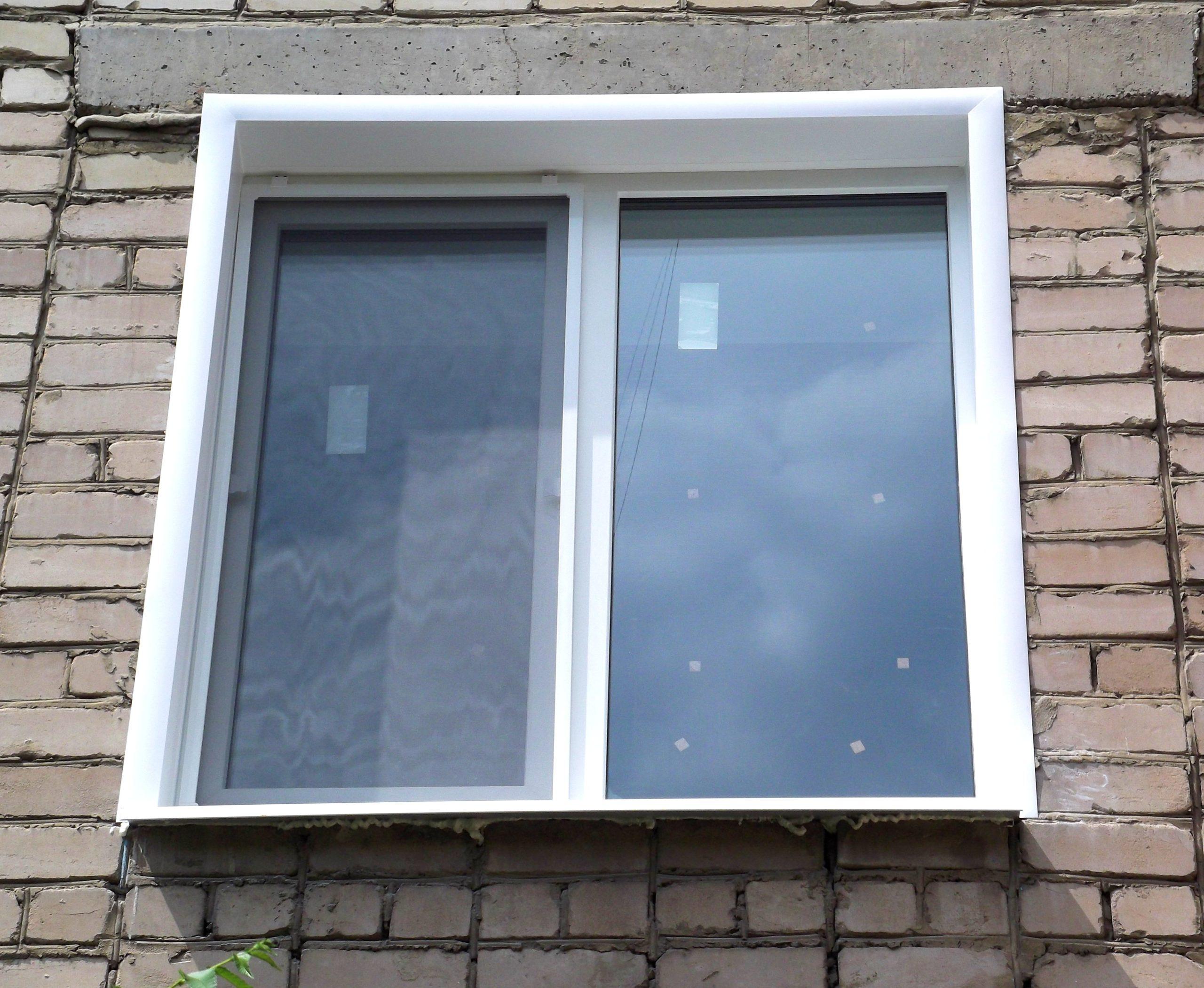 окно откос картинки