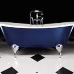 необычные ножки для ванны интерьер