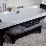 необычные ножки для ванны идеи виды