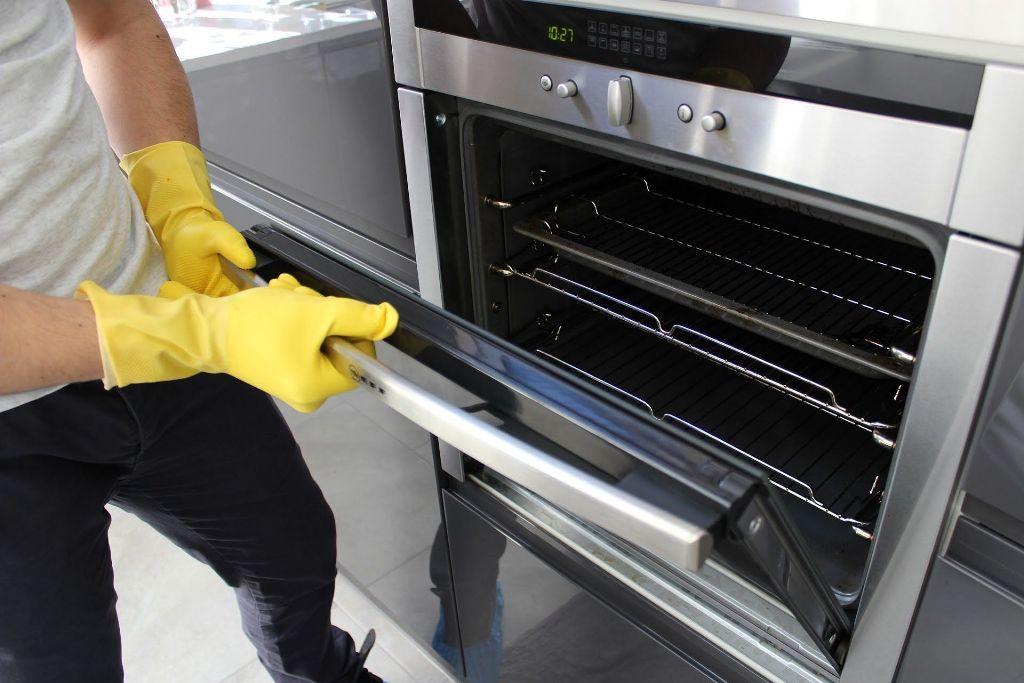 как очистить духовку гидролиз
