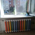оригинальная покраска радиатора фото