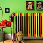 оригинальная покраска радиатора фото варианты