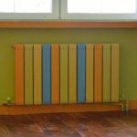 оригинальная покраска радиатора виды декора