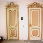 отделка дверей своими руками фото интерьер