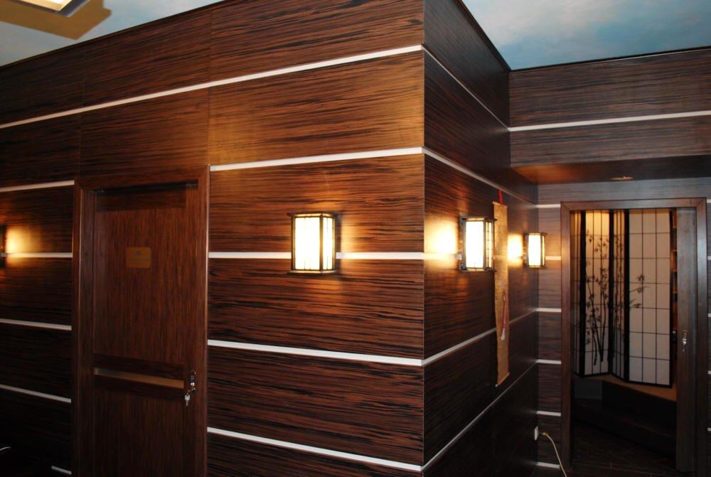 отделка стен деревянными стеновыми панелями