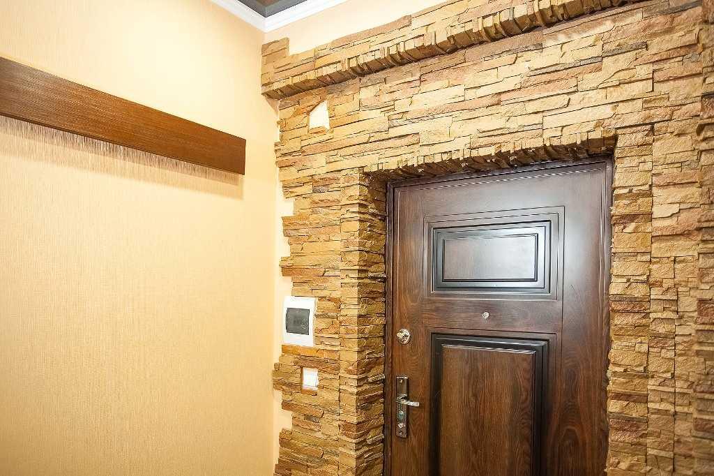 откосы на входную дверь керамическая плитка
