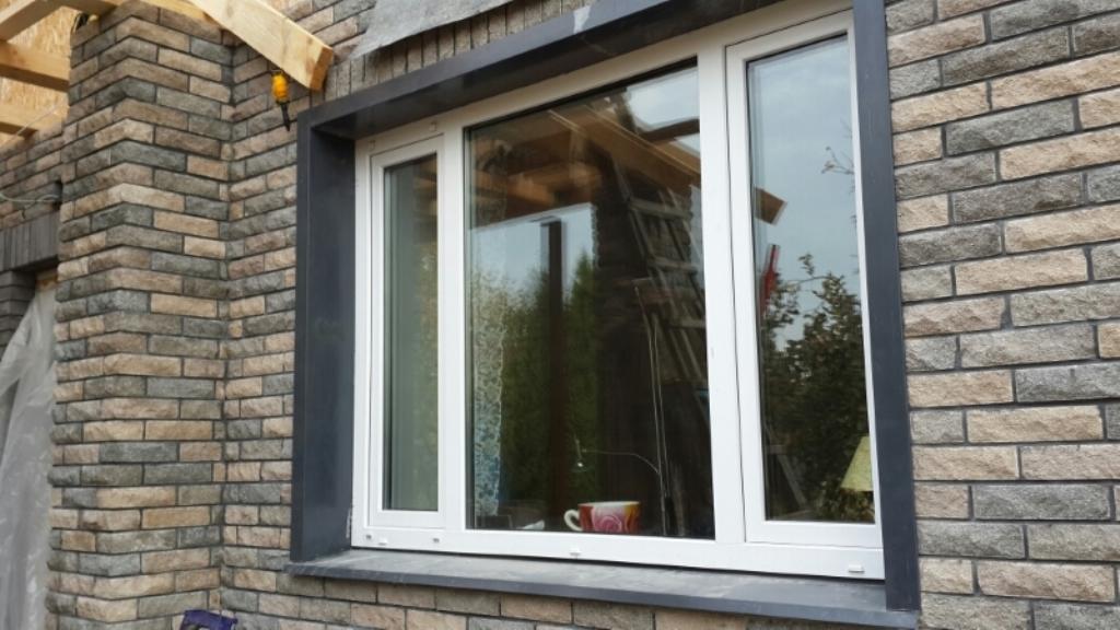 откосы на окна наружные фото оформления