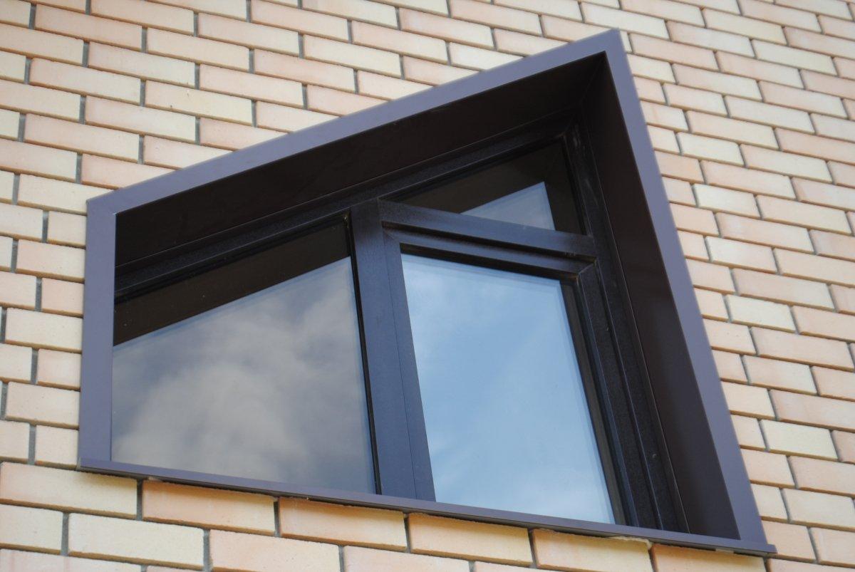 откосы на окна наружные фото