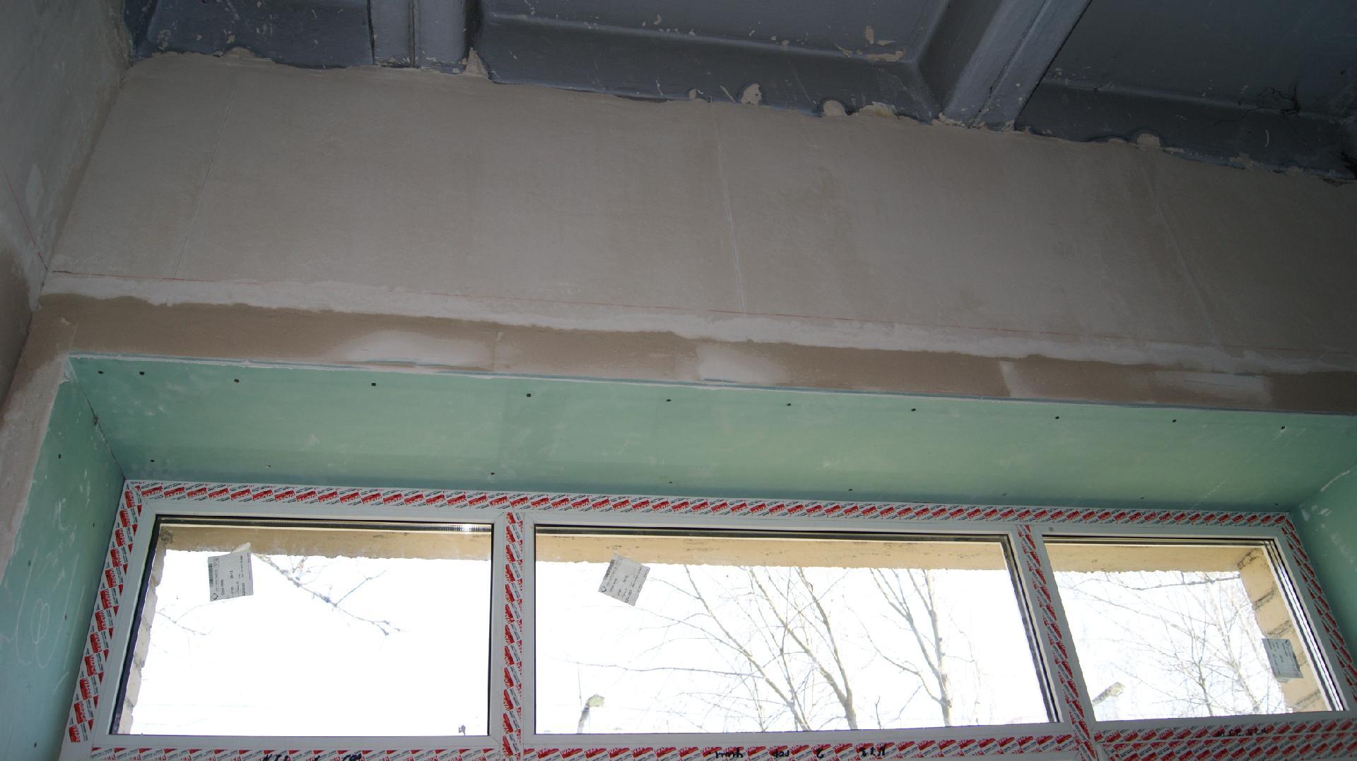 откосы на окна наружные гипсокартон