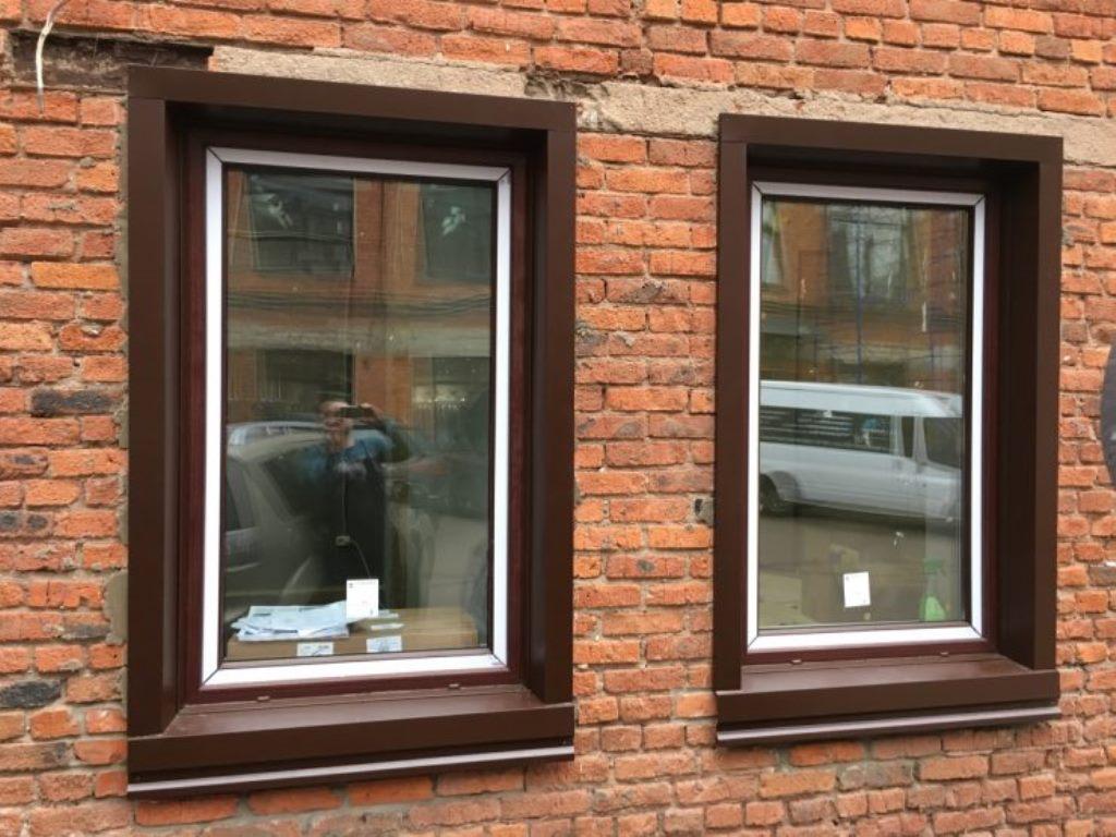 откосы на окна наружные металл