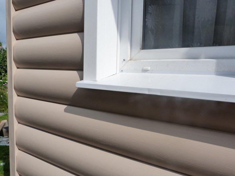 откосы на окна наружные сайдинг
