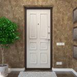 откосы на входную дверь декор фото