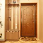 откосы на входную дверь оформление