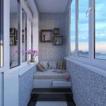 отличия лоджии и балкона интерьер идеи