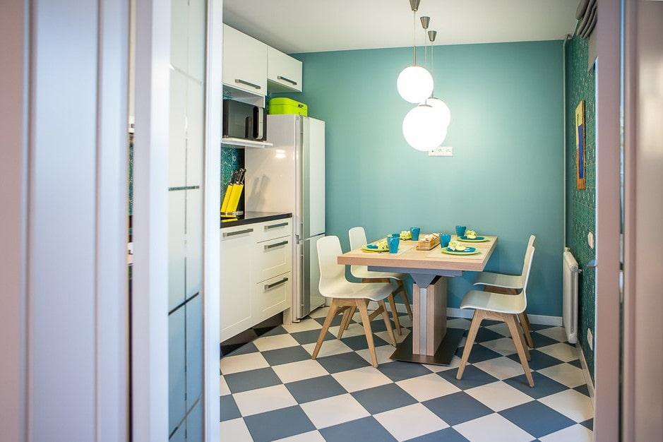напольная плитка для кухни
